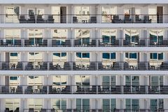 Cabins of a modern cruise Royalty Free Stock Photography