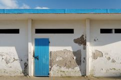 Cabins over the beach Royalty Free Stock Photography