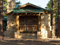 Cabins for rent at the grand canyon Royalty Free Stock Images