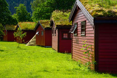 Cabins for rent Royalty Free Stock Images