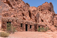 The Cabins at Valley of Fire Stock Image
