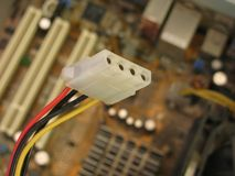 Cable électrique Photo stock