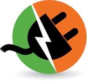 Cable électrique Photo libre de droits