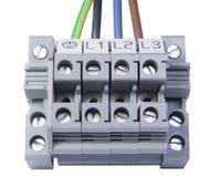 Cable électrique image stock