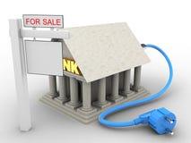 cable électrique 3d Image stock