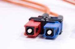 Cable óptico Imagen de archivo