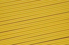 Cable óptico amarillo Foto de archivo libre de regalías