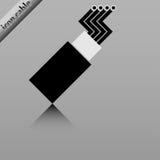 Cable óptico de la fibra Fotos de archivo libres de regalías