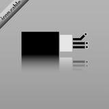 Cable óptico de la fibra Imagen de archivo