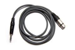 Cable audio Imagenes de archivo