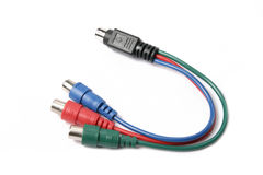 Cable audio computer Royalty Free Stock Photography