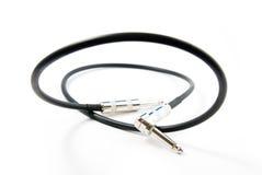 Cable audio (gato-gato) Fotografía de archivo libre de regalías