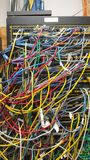 cable bałagan Zdjęcie Royalty Free