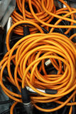 Cable at bag Stock Photography