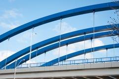 Cable bridge detail Royalty Free Stock Image