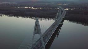 Highway Bridge On River