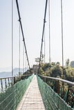 Cable bridge royalty free stock image
