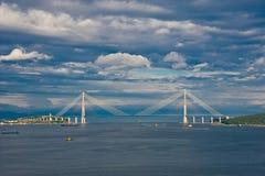 Cable bridge Stock Photography