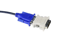 Cable with cable connector Stock Photography
