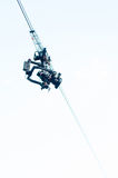 Cable camera Royalty Free Stock Photography
