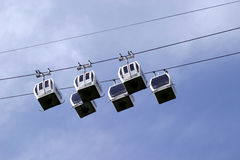 Cable Car. Heights of Abraham, Matlock, Derbyshire Royalty Free Stock Photos