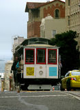 Cable car. San francisco street cable car Stock Images