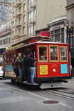 Cable car. San francisco street cable car Royalty Free Stock Image