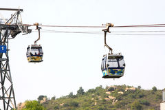 Cable Car. In Lantau Island, Hong Kong Stock Image