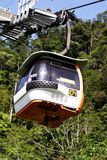 Cable Car. Genting Highland cable car Stock Images