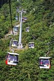 Cable car. Genting highland cable car Royalty Free Stock Photos