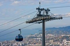 Cable car Argo in Batumi Royalty Free Stock Photos