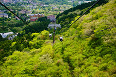 Free Cable Car At Hakone, Japan Royalty Free Stock Photography - 61690137