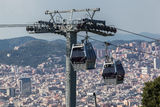 Cable Car Barcelona Stock Images