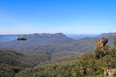 Cable car in Blue Mountains in Sydney Royalty Free Stock Photography