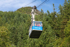 Cable Car in Canada Royalty Free Stock Image