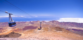 Cable car on Canary Island Stock Photos