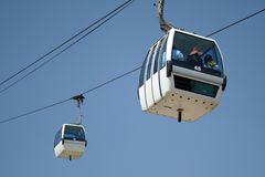 Cable Car, China Royalty Free Stock Images
