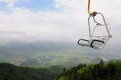Cable Car at China 2 Royalty Free Stock Photography