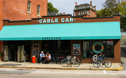 Cable Car Cinema, South Main Street, Providence, RI. Royalty Free Stock Images