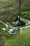 Cable car of Fuente De, Cantabria Royalty Free Stock Image