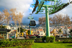 Cable Car Funchal - Monte Stock Photo