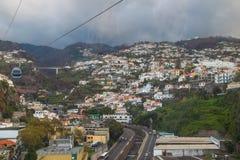Cable Car Funchal - Monte Stock Photos