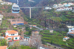 Cable Car Funchal - Monte Royalty Free Stock Photography