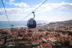 Cable Car Funchal - Monte royalty free stock photo