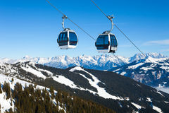 Free Cable Car Going To Schmitten Royalty Free Stock Photos - 31204678