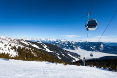 Free Cable Car Going To Schmitten Stock Photography - 31204722