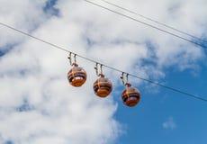 Cable Car in Haifa, Israel Stock Photos