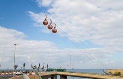 Cable Car in Haifa, Israel Royalty Free Stock Photos