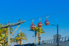 Cable car, in Haifa Royalty Free Stock Photo