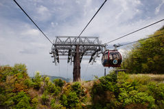Cable car at Hakone, Japan stock images
